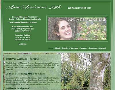 Anna Desimone LMP, Bellevue, WA