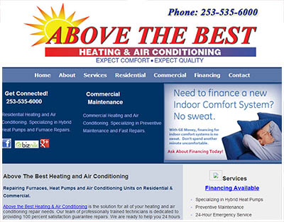 Tacoma HVAC - Above the Best HVAC Services