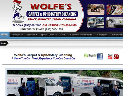 Wolfe's Carpet Cleaning, Tacoma Carpet Cleaners