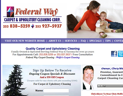 Fort Lewis Carpet Cleaning - JBLM