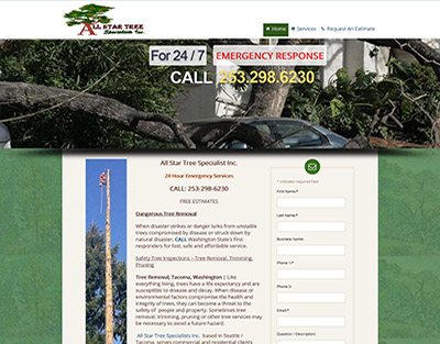 All Star Tree Specialists Inc